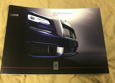 2019 ROLLS-ROYCE GHOST Product overview brochure 2 461 122 Prospekt catalogue