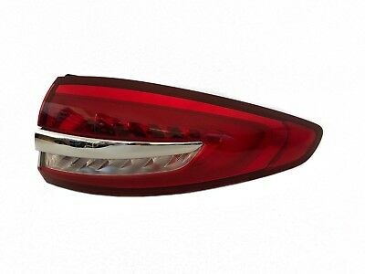 2017 2018 2019 Ford Fusion Tail Light Pass Side Rh Led Chrome Oem Original Ford