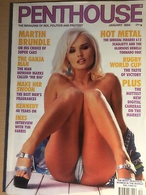 Penthouse Magazine January 2004 -The most beautiful women in the world Vol3 No12