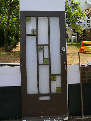 Stained Glass Front Door 1930s