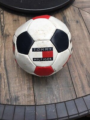 Vintage 90s Tommy Hilfiger soccer ball.  Very rare piece a must for collectors