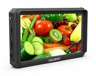 """Lilliput A5 5"""" Camera-Top Broadcast Monitor 4K HDMI 1920x1080 for HDMI out DSLR"""