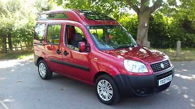 07  Fiat Doblo 1.4    Highroof Wheelchair Adapted     Only 24K