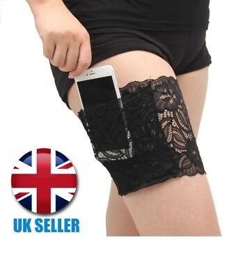 Pair Lace Anti Chafing Thigh Pocket Bands - Non Slip - Prevent Chafing