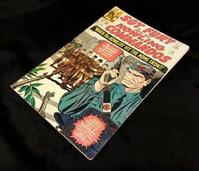 Sgt. Fury #24>Silver-Age Classic(1965//5.0)- Stan Lee/dick Ayers! Nice!!