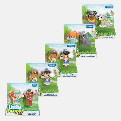 NEW Fisher-Price Little People Figures Pack Assorted Helps develop: