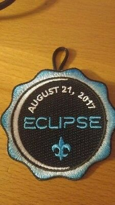 cub boy scout eclipse patch 2017 New collectible