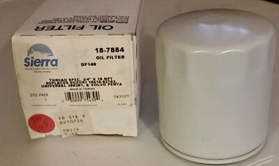Volvo Penta Oil Filter, #834337, Sierra #18-7884 16510-82703 UNI 299381