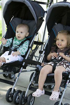 New Prince Lionheart Pushchair Buggy Stroller Connectors Easy Fit - Baby Kids