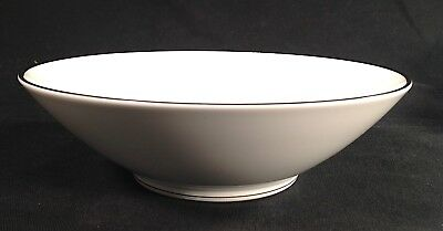 "Noritake Silverdale Round 8 1/2""  Vegetable Serving Bowl - Platinum Trim"