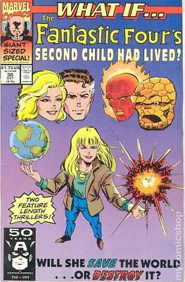 What If #30 (1991) Marvel Comics Fantastic Four