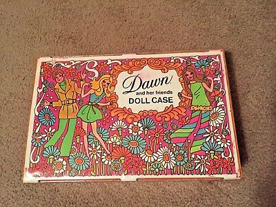 Vintage Topper Dawn And Her Friends Doll Case