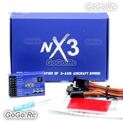 NX3 3D Flight Controller Gyroscope Balance For RC Plane Fixed-wing Aircraft