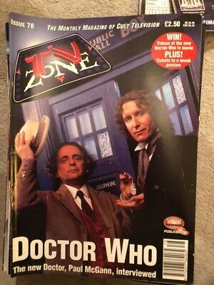 TV Zone 1996 Issue 78 Star trek voyager 5 Dr Who X files Nyree Dawn Porter
