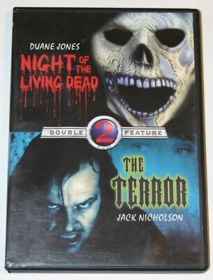 Night of The Living Dead / The Terror Double Feature DVD.