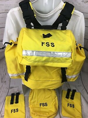 NEW FSS Wildland Firefighter Pack Complete Set!  NICE!  Fast Shipping!
