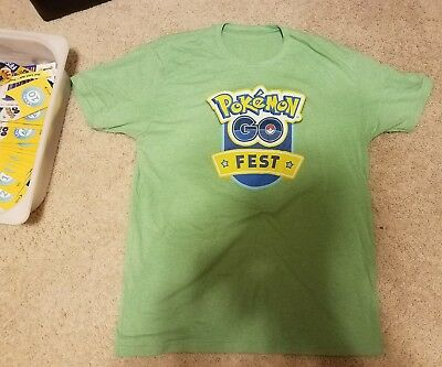 Pokemon GO Fest 2017 Staff T-Shirt XL