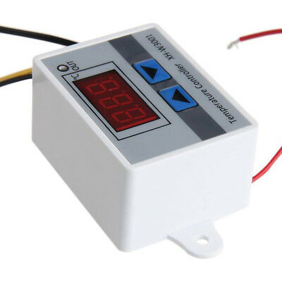 10A 220V Digital LED Temperature Controller Thermostat Control Switch Probe NEW