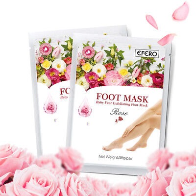 efero 1-10Pair Baby Feet Peel Foot Masks Exfoliating Socks Moisturizing Heels