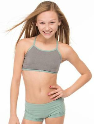 CLEARANCE - Ktrna Dancewear Child Launch Top - 13032 - Size 8-10 and 10-12