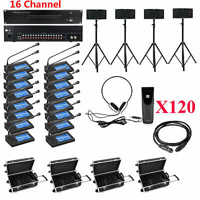 16CH Digital Infrared Wireless simultaneous interpretation Conference System New