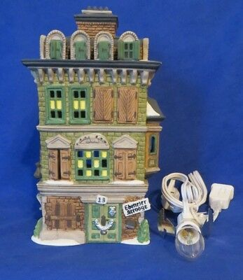 Dept 56 Dickens Village Series The Flat of Ebenezer Scrooge 1989