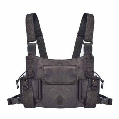 MDSTOP Tactical chest bag holster for  Two Way Radio clips & holsters