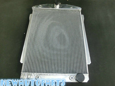 New 56MM Aluminum Alloy Radiator 1940-1941 For Fit CHEVY CAR STREET ROD AUTO