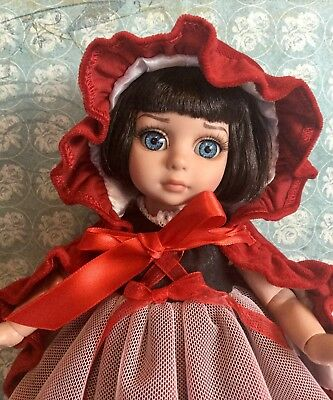 Tonner Patsy Doll ~Little Red Riding Hood~ Original Outfit/Cape COA LE 150 CUTE!