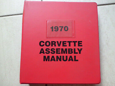 CHEVROLET CORVETTE 1970 - Assembly Manual - Montageanleitung ...