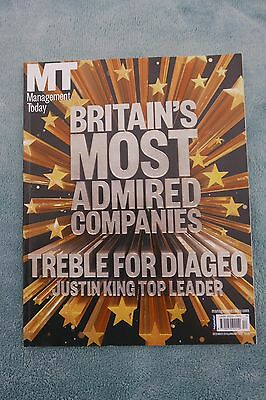 Management Today Magazine: Dec 2013/Jan 2014, Britain's Most Admired Companies