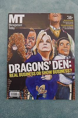 Management Today Magazine: May 2014, Dragon's Den