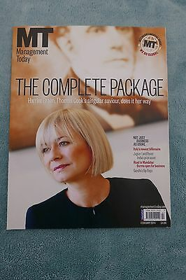 Management Today Magazine: February 2014, Harriet Green at Thomas Cook