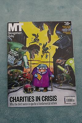 Management Today Magazine: November 2015, Charities In Crisis