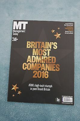 Management Today Magazine: Dec 2016/Jan 2017, Britain's Most Admired Companies