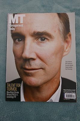 Management Today Magazine: September 2013, Adam Crozier at ITV