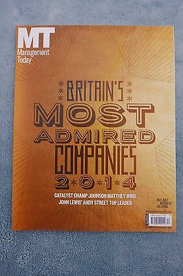 Management Today Magazine: Dec 2014/Jan 2015, Britain's Most Admired Companies