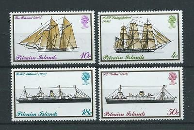 Pitcairn SG157-160 1975 Mail Boats Unhinged Mint