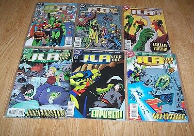 Justice League Of America - Jla - Year One Comics Issues #7,8,9,10,11 & 12 - Dc