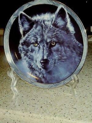Moon Shadows Mystic Spirit - First Issue Bradex Collectible Plate