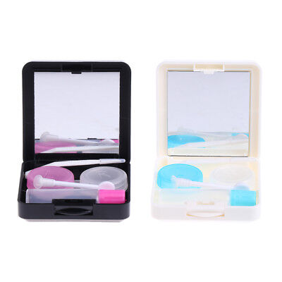 Portable Mini Travel Contact Lens Case Box Container Holder Set Eye Care Kit