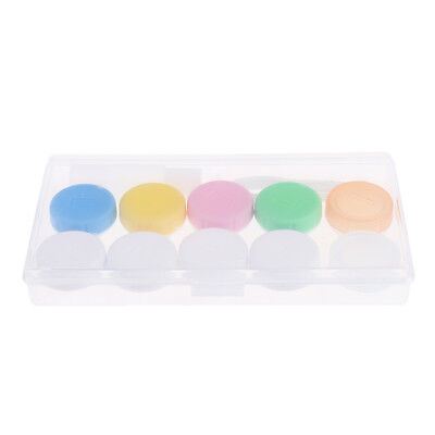 5pcs Travel Portable Contact Lens Container Case Holder Box Eyes Care