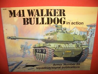Squadron Signal 2029 Armor Number 29, M41 WALKER BULLDOG  in action