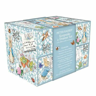 Beatrix Potter Peter Rabbit 2 Drawer Keepsake Box By Robert Frederick