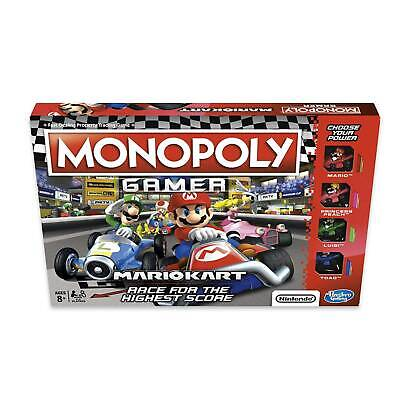 Monopoly Gamer Nintendo Mario Kart Edition Board Game Race For The High Score!
