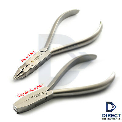 Dental Orthodontic Pliers Young Loop Forming Clasp Wire Bending Tooth Braces Lab