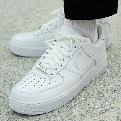 new style c37dd 5d54a NIKE AIR FORCE 1  07 315122-111 chaussures hommes sport loisir sneaker blanc