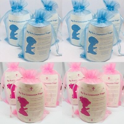 Christening Candle Favours