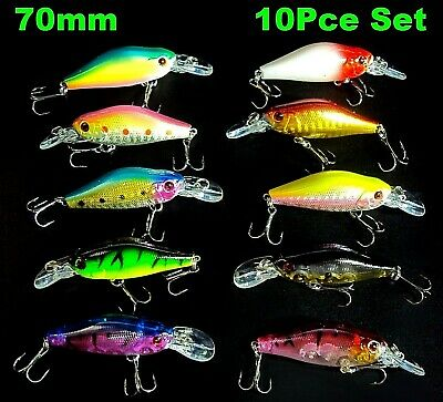 Redfin Fishing Lures Freshwater Flathead Bass Bream Perch Trout Cod Lures Tackle