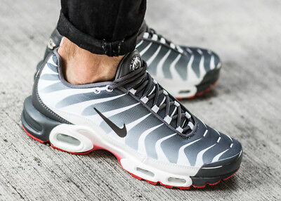 buy popular 9a247 bf232 NIKE AIR MAX PLUS TN SE sneaker chaussures hommes sport gris NEW AQ0237-100